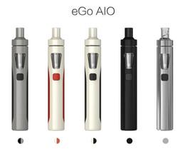 Mod baterías baratas en venta-Kit Original Joyetech EGo Aio 0.6ohm 1500mah kit de cigarrillos mod e cigarrillo con atomizador de 2ml barato e cigarrillo
