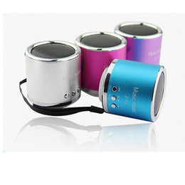 New Z-12 Mini Speaker With FM Support Micro TF Card Portable Multimedia Multicolour Good Quality Free DHL Shipping