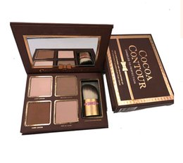 Too faced chocolate 4 color repair powder high light shadow face-lift l make-up plate Make up Cosmetics free DHL