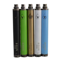 Torsion ii en Ligne-Cigarette électronique Vision Spinner 2 1650mAh Ego twist 3.3-4.8V vision spinner II batterie de tension variable en stock