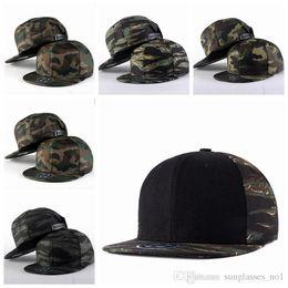 Descuento sombreros de camuflaje Unisex Camouflage Gorras de béisbol Sun Visor Mujeres Hombres Ejército Militar Sombrero Deportivo Casquillo Casual Street Ball Gorras PPA743