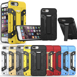Wholesale Buy get Screen Protector Free Neo Hybrid PC TPU Armor Duty Holder Case For iPhone S Plus S Samsung Galaxy S7 Edge Note Cases