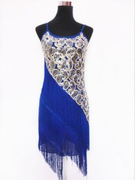 Woman Vintage 1920's Great Gatsby Party Flapper Fringe Dress Sexy Sequined Clubwear Strap Latin Dance Mini Dress Big Size