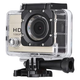 Wholesale Remote Action Camera Ultra HD K WiFi Sport Camera P fps LCD D Lens Helmet Cam Go Waterproof Pro Camera