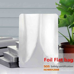 14x20cm Vacuum Cooked Food Heat Sealing Mylar Smell Proof Aluminum Foil Packaging Bags Laminating Package Snacks Tea Medical Freezer Pouch