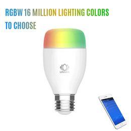 New Wireless Control Speaker Smart Music Audio Speaker LED RGB Color Bulb Light Lamps