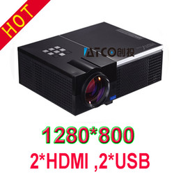 Wholesale Best Newest model with high lumens full hd projector with native high resolution Hot selling