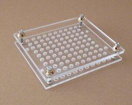 Wholesale Capsule Filling Machine Holes Capsule Filling Board With Tamping Tool