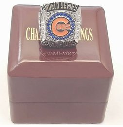 Wholesale Replica Chicago CUBS Baseball World Series Championship Ring Size with wooden box