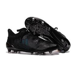Wholesale 2017 Cheap Adidas Originals X Purechaos FG AG Soccer Shoes Men Soccer Cleats Colors Football Shoes Hot Sale Soccer Boots Free Ship