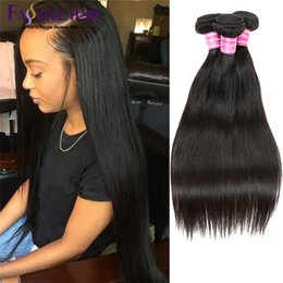 Wholesale Cheap Brazilian Virgin Hair Straight Human Hair Extensions Brazilian Straight Hair Weave Bundles Brazilian remy PC deals