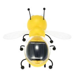2017 juguete educativo de abeja Juguetes lindos interesantes de la abeja al por mayor-Solar Juguetes populares Juguetes educativos de los niños Juguetes interesantes de la energía accionada solar de la energía descuento juguete educativo de abeja