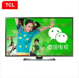 Tv lcd 55 en Ligne-TCL 55 pouces LED TV LCD Android TV intelligente Full hd LCD TV Téléviseur Électronique 1920 x1080 qualité de résolution de nouveaux produits chauds!