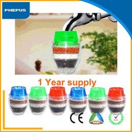 Wholesale PHEPUS mini zeolite water tap faucet purifiers china diret household activated carbon