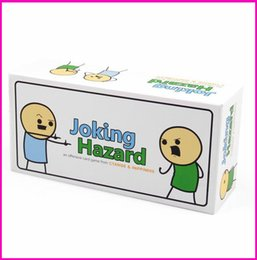 Joking Hazard Humanity Party Game Funny Games For Adults With Retail Box Comic Strips Card Games Hot Sell 2017 In Stock