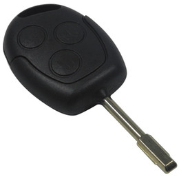 Guarantee 100% Replacement Keyless Entry Remote Key Fob Transmitter COMPLETE 433 MHZ Car For FORD MONDEO FIESTA FOCUS KA Free Shipping