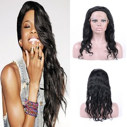 Beauty Remy Human Hair Natural Wave 130% Density Virgin Brazilian Hair Lace Front Wigs For Black Women With Baby Hair Natural Color