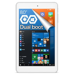 Ips tablet intel atom en venta-Venta al por mayor - Cube iwork8 Ultimate Tablet PC WINDOWS 10 + ANDROID 5,1 2 GB RAM 32 GB ROM 8,0 pulgadas IPS pantalla Intel Atom x5-Z8300 64 bits Quad Co