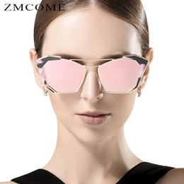 ZMCOME Punk Alloy Frame Sunglasses Women Fishing Sun Glasses Women's Steampunk Female Coating Goggle Oculos De Sol UV400