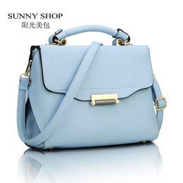 Wholesale SUNNY SHOP Spring Women Flap Shoulder Bags Small Candy Colour Lady Bag Fresh Women Messenger Bag Brand Designer Handbags