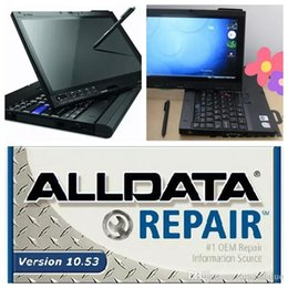 2017 alldata 10.53 with Mitchell 5.8 2015 software workshop car repair program 1TB HDD installed on x200t laptop ready to work
