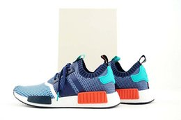 Wholesale Drop Shipping Mens Womens Packer Shoes NMD Primeknit Runner PK Running Shoes Sportswear Sneakers