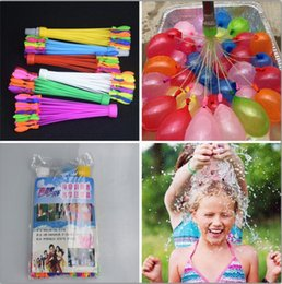 Wholesale Water Magic Balloon Bunch Of Balloon Colorful Bombs Toys Summer Outdoor Sports Beach Games OOA1377