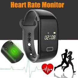 Moniteur de sommeil podomètre à vendre-Promition K18S Bracelet à fréquence cardiaque Bluetooth 4.0 IP65 Waterproof Pedometer Calorie Sport Wristband Sleep Monitor Call / SMS Reminder