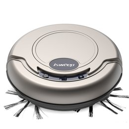 Wholesale and retail home intelligent sweeping robot automatic vacuum clean sweep drag one machine