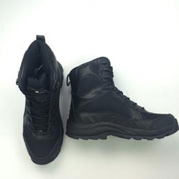 Wholesale Hot sale Men s Jungle Boots Dessert Tactical Combat Boots Outdoor Hiking Shoes Size US Size