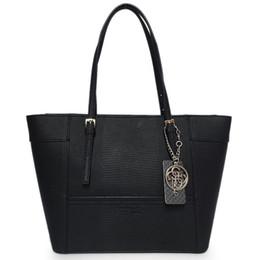 Toile grand sac à main en Ligne-BIG PROMOTION-free Shippiing - bonne qualité femmes 2016 pvc solide couleur lettre sac à main sac à main