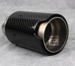 Fit for BMW 1 2 3 series M M2 M4 M3 F87 F80 F82 F Performance carbon fiber carbon fiber tip exhaust pipe muffler for BMW