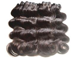 DHgate Hair Products Non Traité Extensions de cheveux vierges brésiliennes Body Wave 7A Grade Mixte 30 Bundles lot 50g / pcs Virgin Human Hair Weaves 7a grade virgin brazilian hair bundles for sale à partir de grade 7a vierges faisceaux de cheveux bresilien fournisseurs