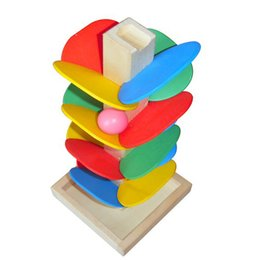 Wholesale Wisdom Tree Children Educational Multicolor Disassembling Ball Toys Wooden Stick Pieces Assembly Pour The Pearl Game Kids Gifts