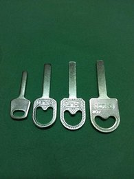 Copy right Angle teeth steel padlock key embryonic, rectangle locksmith supplies, sales promotion, bulk, a clap