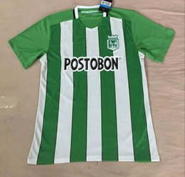 Wholesale Customized Atletico Nacional Home Away Soccer Jerseys Best Quality Discount Cheaper FORCACHAPE BORJA Soccer Jersey Football Jerseys