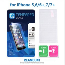 9H Hardness 2.5D Tempered Glass Screen Protector for iphone 6 6plus for iphone 7 7plus Explosion Shatter Screen Protector Film with Package