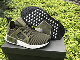Wholesale AD Men s NMD XR1 S32217 PK Olive Rare Limited NMD XR1 Pack Runner Primeknit Olive Cargo With Original Box