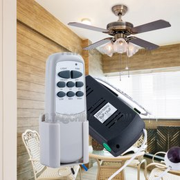 Gu4 conduit à vendre-Ventilateur de plafond commutateur de télécommande à distance 110V 220V AC IR avec 3 vitesses et 3 minuteries