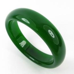 100% Natural hetian Jade handwork green Bracelet