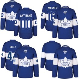 Wholesale 2017 Centennial Classic Jersey Anniversary Patch Toronto Maple Leafs Men s Frederik Andersen Zach Hyman Connor Brown Jerseys