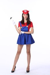 Halloween costume Mario cosplay animation game uniforms roleplay Super Mario