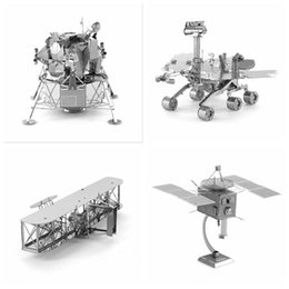 Wholesale 3d diy Metal Puzzle Fighter Aircraft Model For Adult Air Force Equipment Helicopter Airplane Building Model Kids Toys Gifts