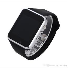 Nouvelle u8 bluetooth montre-bracelet à puce en Ligne-2017 Nouveau A1 Smart Watch Bluetooth DZ09 U8 GT08 SmartWatch iWatch Soutien SIM TF Card Smart montres avec bracelet en silicone Smartphone