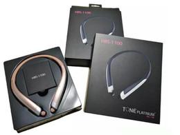 For LG Universal Best HBS-1100 bluetooth Headsets Tone Wireless Sports Neckband Stereo Earbuds In ear Genuine hx1100 CSR Earphone Headphone