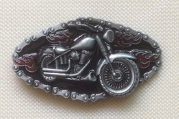 Ghost Red belt buckle with pewter finish SW-BY130 suitable for 4cm wideth belt with continous stock free shipping