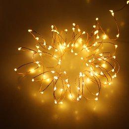 Luces de hadas blancas con pilas en Línea-3m 30 Leds Alambre De Plata 2 Batería De Célula De Batería Led Led De Cuerdas Luces Blancas De Navidad Calientes De Hadas