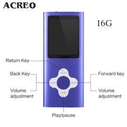 """Acheter en ligne Écrans pourpres-Violet 16 Go 1.8 """"écran LCD numérique MP3 / MP4 musique / audio / lecteur multimédia avec radio FM (rouge)"""