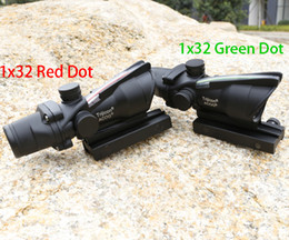 Wholesale Trijicon Acog x32 Green Red Optical Fiber With Markings