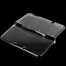 Crystal case 3ds en Ligne-Hot for New 3DS Crystal Case Protecteur de cas Cover + Screen Film Protector pour Nintendo 3DS Nouveau